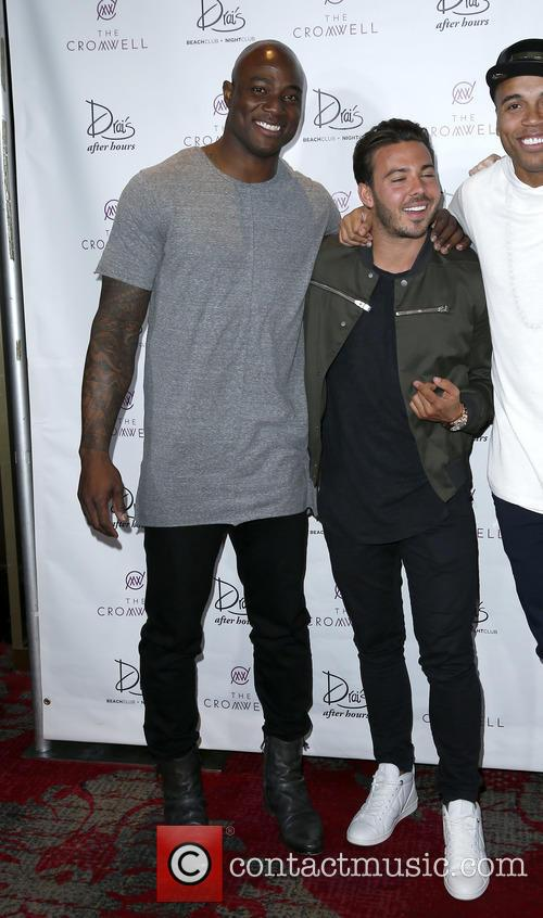 Timbaland and Demarcus Ware 8