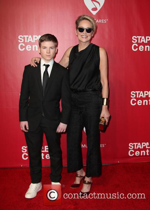 Roan Bronstein and Sharon Stone 1