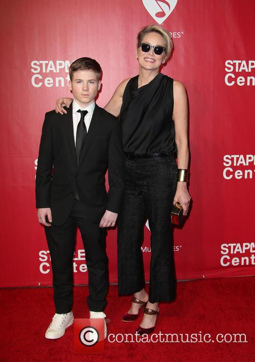 Roan Bronstein and Sharon Stone 7