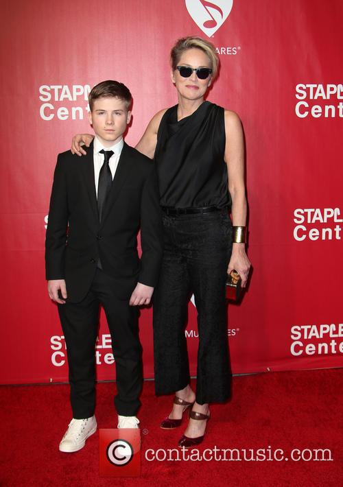 Roan Bronstein and Sharon Stone 8