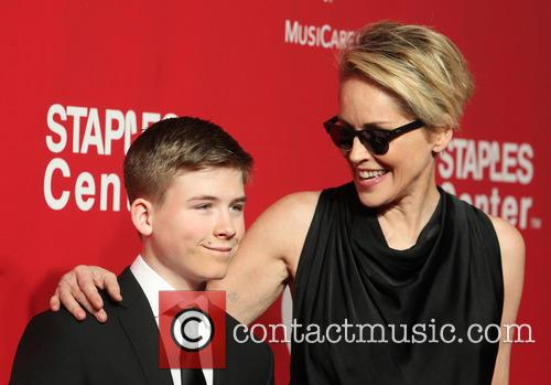 Roan Bronstein and Sharon Stone 9