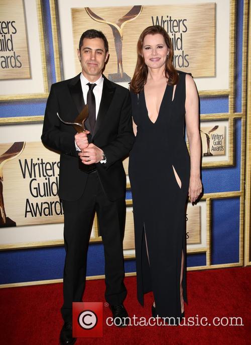Josh Singer and Geena Davis 1