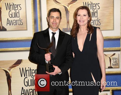 Josh Singer and Geena Davis 4