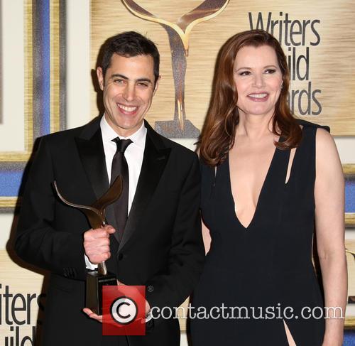 Josh Singer and Geena Davis 5