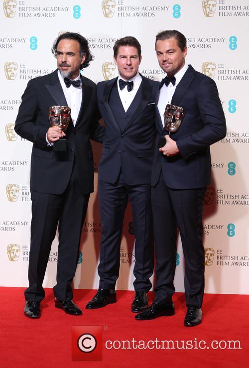 Alejandro Gonzalez Inarritu, Leonardo Dicaprio and Tom Cruise 2