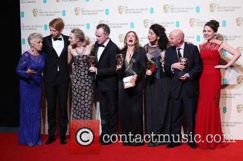 Kate Winslet, Julie Walters, Domhnall Gleeson, Saoirse Ronan, John Crowley, Finola Dwyer, Amanda Posey, Nick Hornby, Guest and Idris Elba