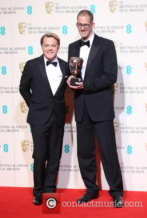 Eddie Izzard and Pete Docter