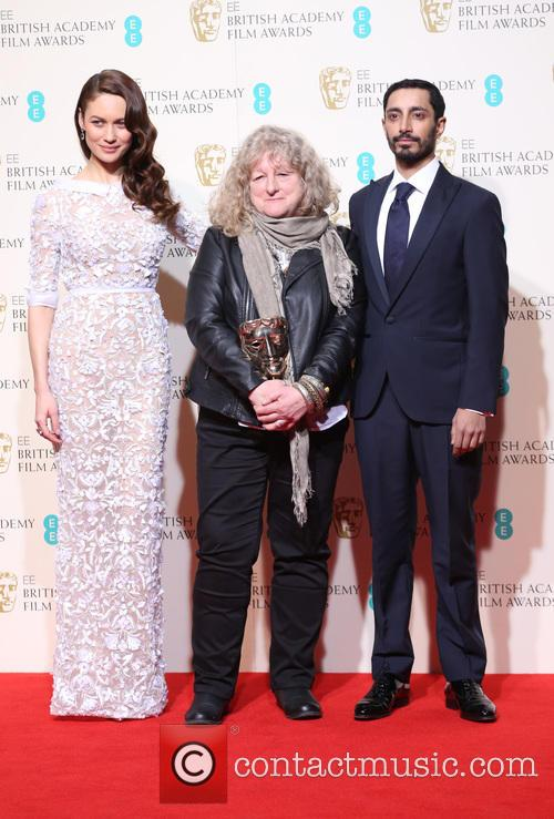Olga Kurylenko, Jenny Beavan and Riz Ahmed