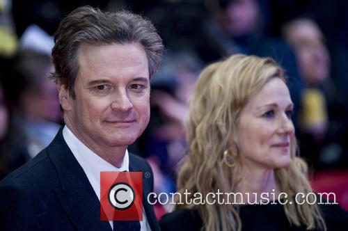 Colin Firth and Laura Linney