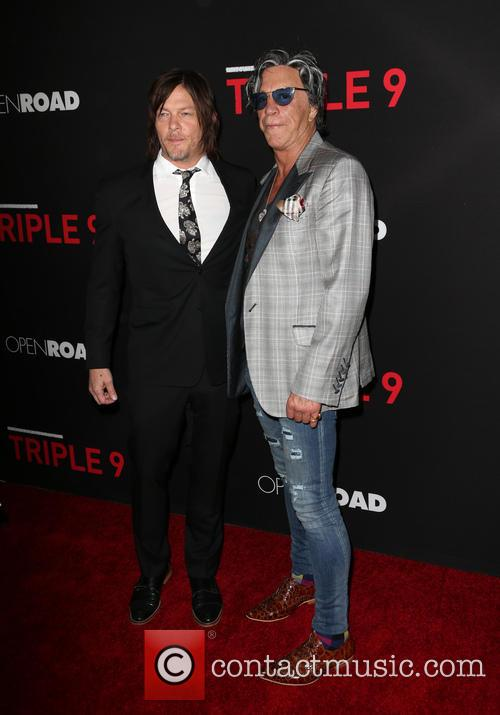 Norman Reedus and Mickey Rourke 5
