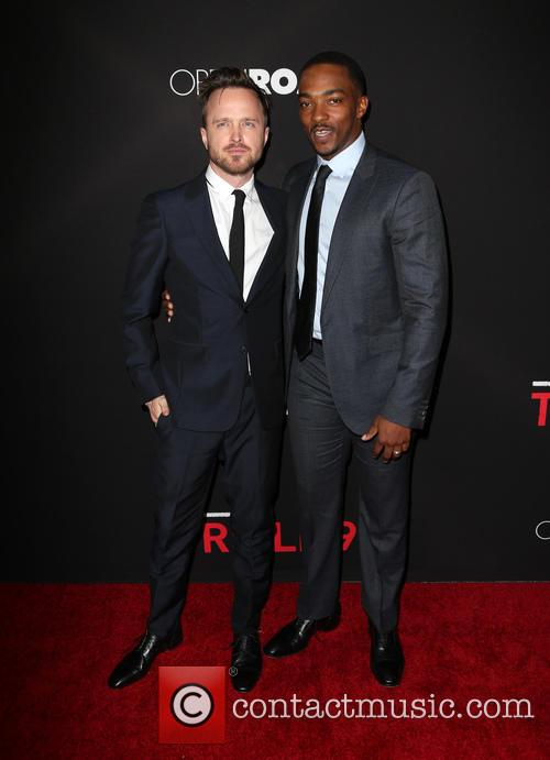 Aaron Paul and Anthony Mackie 8