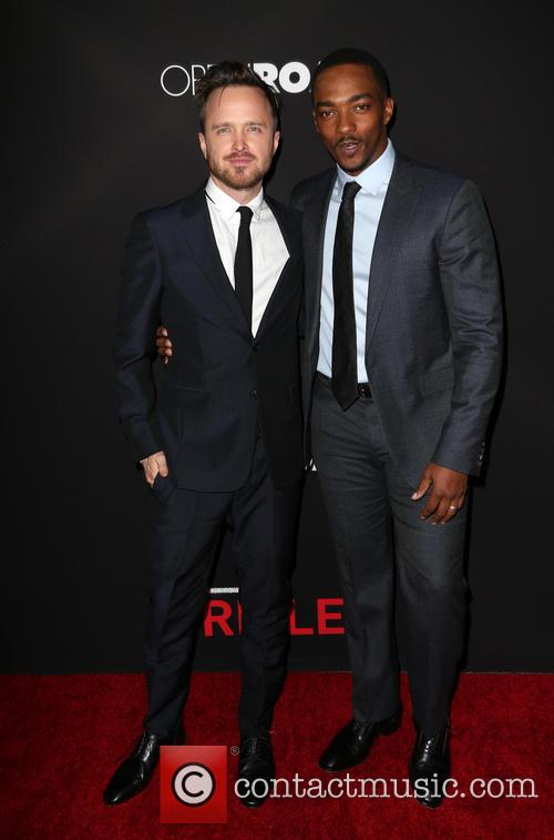 Aaron Paul and Anthony Mackie 9