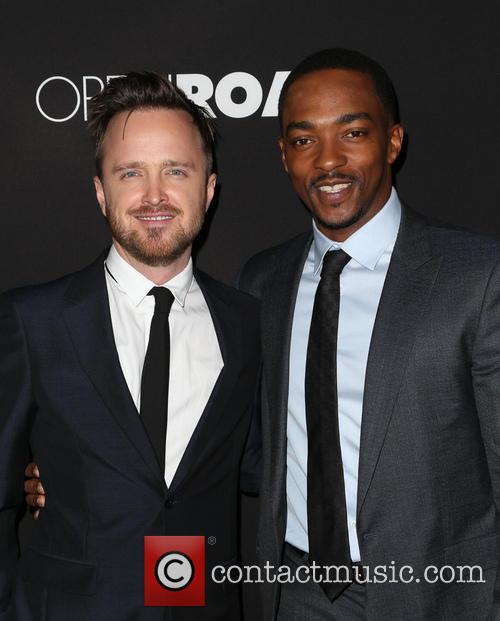 Aaron Paul and Anthony Mackie 10
