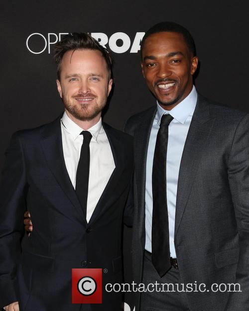 Aaron Paul and Anthony Mackie 11