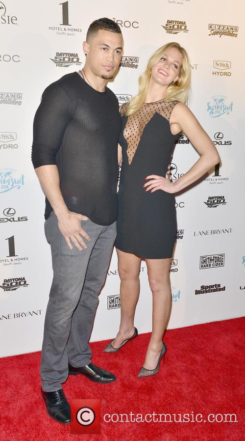Giancarlo Stanton and Erin Heatherton 1