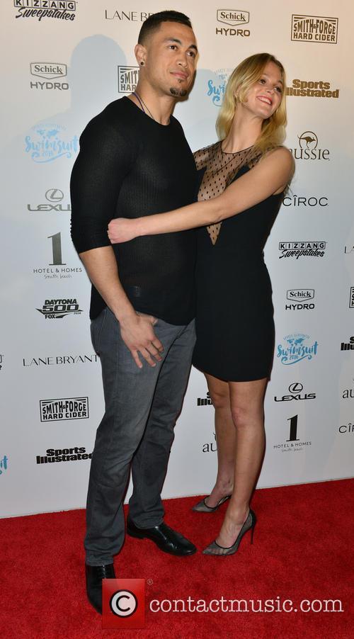 Giancarlo Stanton and Erin Heatherton 3