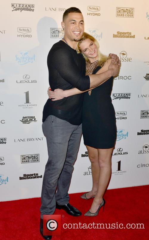 Giancarlo Stanton and Erin Heatherton 4
