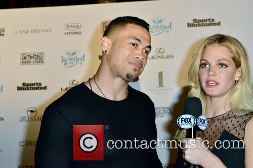 Giancarlo Stanton and Erin Heatherton 8