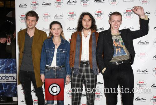 Wolf Alice, Theo Ellis, Ellie Roswell and Joff Oddie