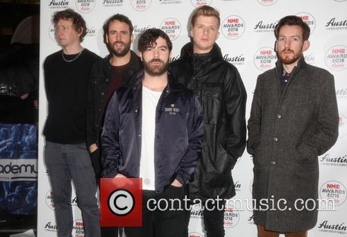 Foals, Edwin Congreave, Jack Bevan, Jimmy Smith and Yannis Philippakis