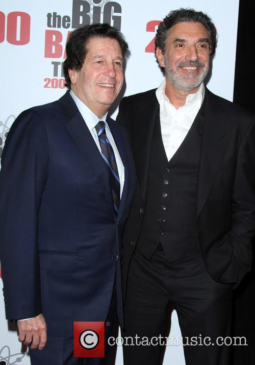 Peter Roth and Chuck Lorre