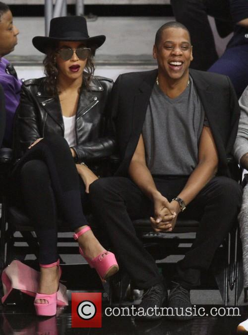 Beyonce' and Jay Z 6