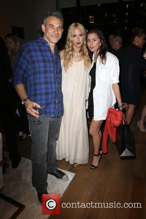 Brad Beckerman, Rachel Zoe and Chase Beckerman
