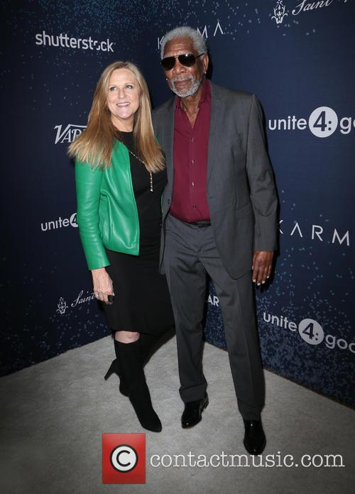 Morgan Freeman and Guest