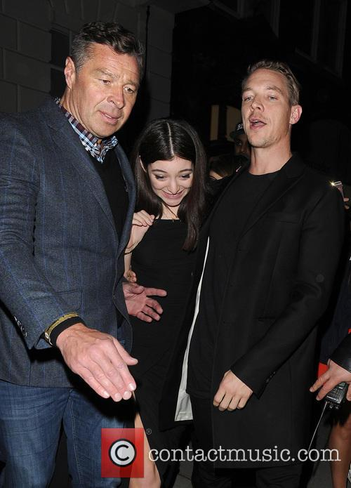 Lorde, Ella Marija Lani Yelich-o'connor, Diplo and Thomas Wesley Pentz 9