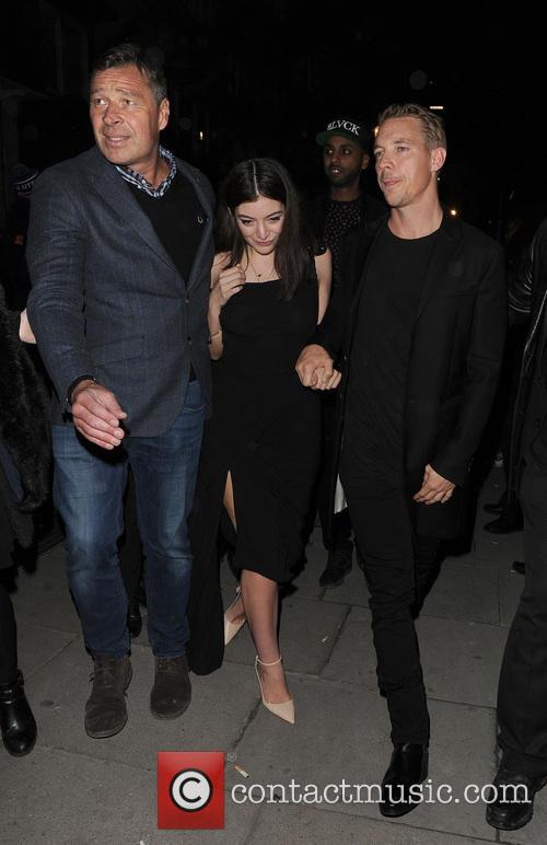 Lorde, Ella Marija Lani Yelich-o'connor, Diplo and Thomas Wesley Pentz 11