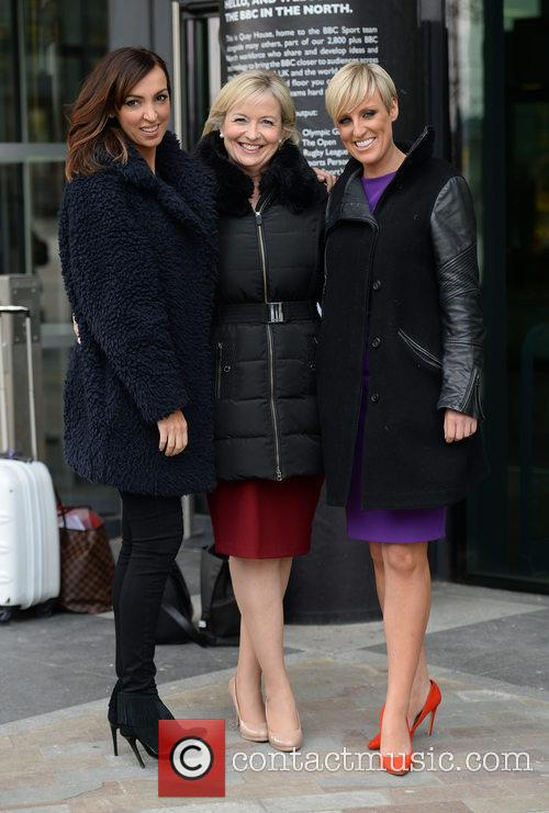 Sally Nugent, Carol Kirkwood and Steph Mcgovern
