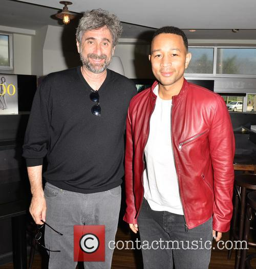 John Legend and Mitchell Kaplan