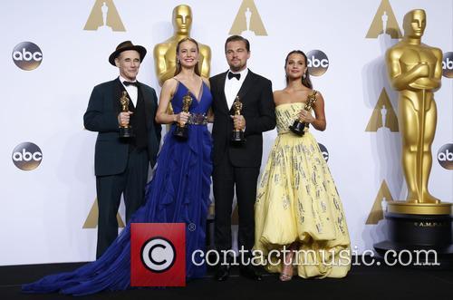 Mark Rylance, Brie Larson, Leonardo Dicaprio and Alicia Vikander 3