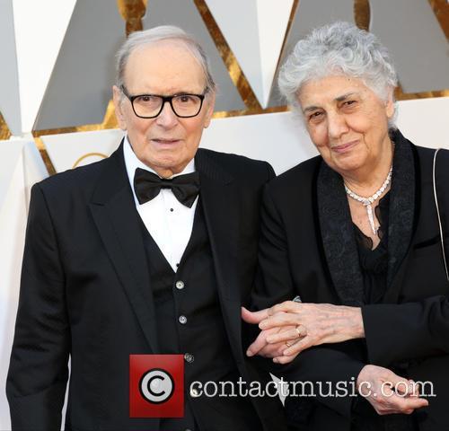 Ennio Morricone and Maria Travia