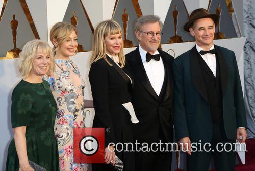 Claire Van Kampen, Juliet Rylance, Kate Capshaw, Steven Spielberg and Mark Rylance 1