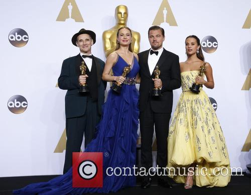 Mark Rylance, Brie Larson, Leonardo Dicaprio and Alicia Vikander 7