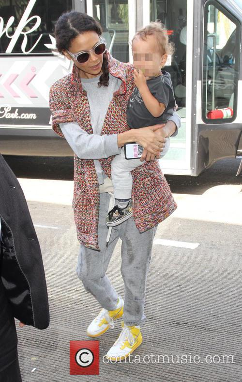 Thandie Newton and Booker Parker 1