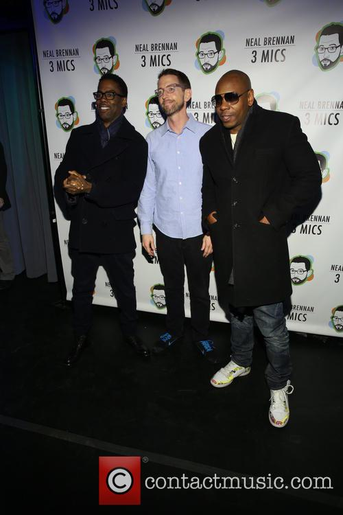 Chris Rock, Neal Brennen and David Chappelle 3