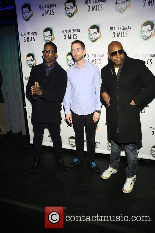 Chris Rock, Neal Brennen and David Chappelle 4