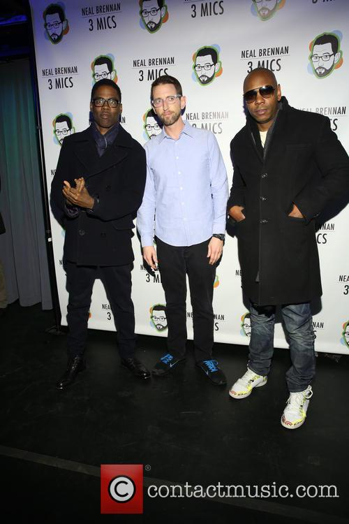 Chris Rock, Neal Brennen and David Chappelle 6