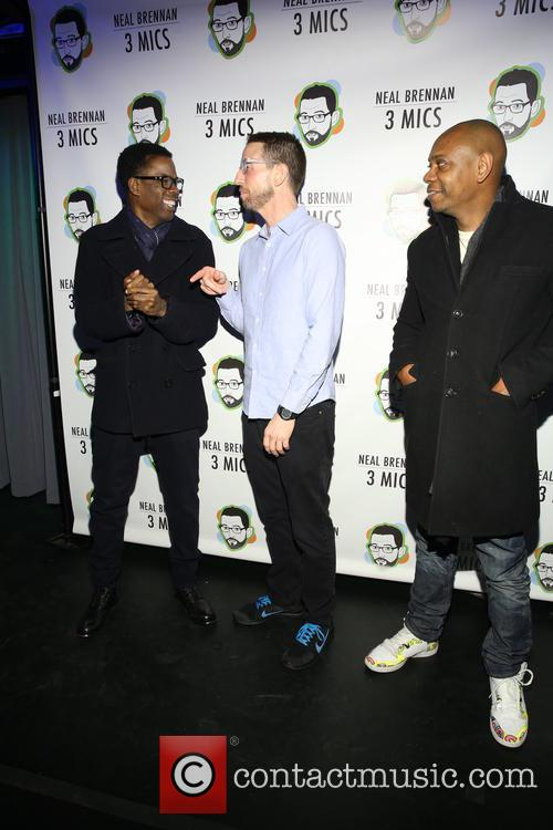 Chris Rock, Neal Brennen and David Chappelle 9