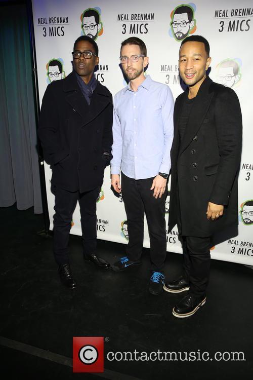 Chris Rock, Neal Brennen and John Legend