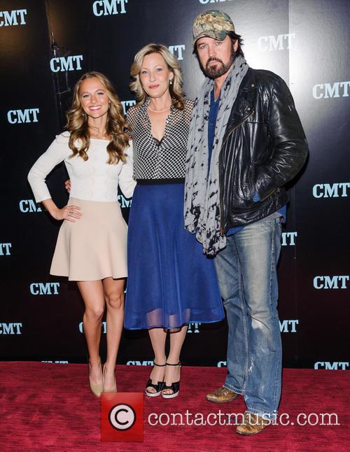 Madison Iseman, Joey Lauren Adams and Billy Ray Cyrus 3