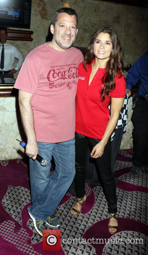 Tony Stewart and Danica Patrick 1