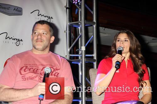 Tony Stewart and Danica Patrick 3