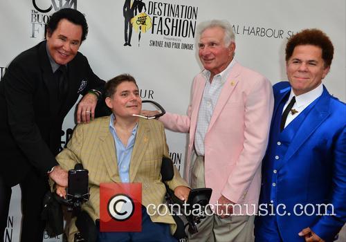 Wayne Newton, Marc A. Buoniconti, Nick Buoniconti and Romero Britto
