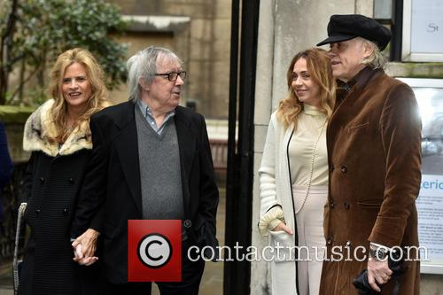 Bill Wyman, Suzanne Accosta, Bob Geldof and Jeanne Marine 2