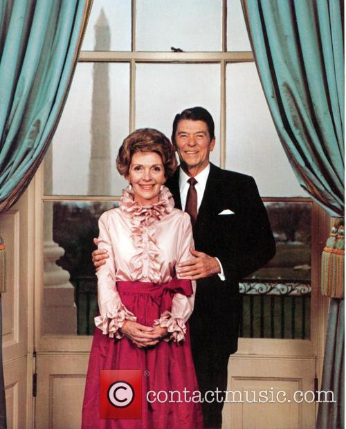 Nancy Reagan, Nancy Davis and Ronald Reagan 11