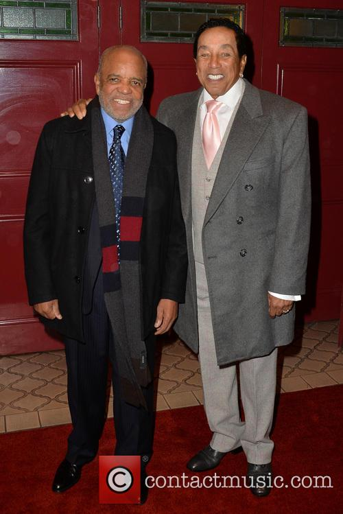 Berry Gordy and Smokey Robinson 7