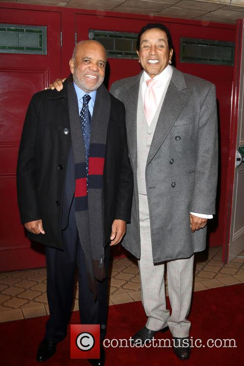 Berry Gordy and Smokey Robinson 2
